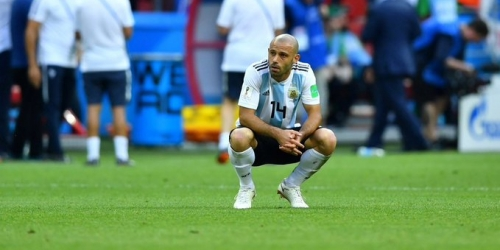 Javier Mascherano le dice adiós a la selección