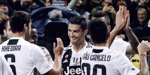Juventus derriba otro récord de la mano de CR7