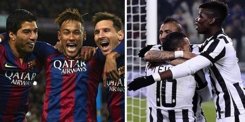 Juventus vs. Barcelona, estos son los convocados