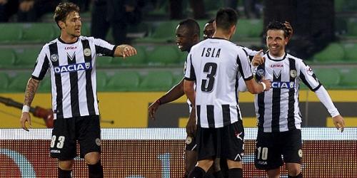 Juventus y Udinese en lo más alto de la Serie A