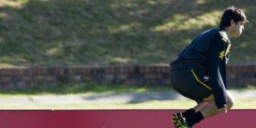 Kaká trabaja con intensidad en primera práctica en Sudáfrica