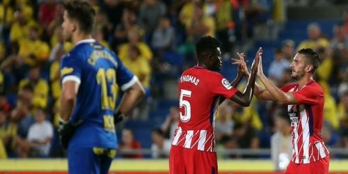 La Liga, el Atlético de Madrid goleó en su segunda presentación