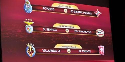 La UEFA sorteó los cuartos de final de Europa League