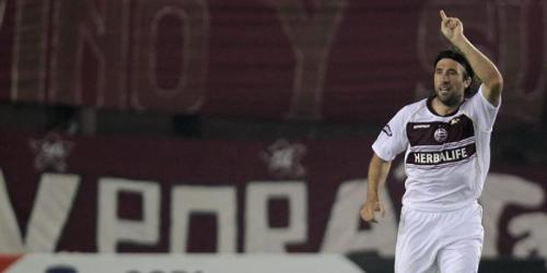Lanús goleó al Olimpia en la Copa Libertadores