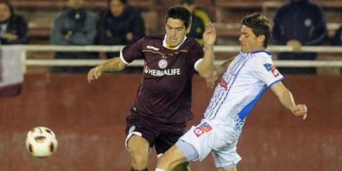 Lanús y Godoy Cruz empataron en el partido de ida