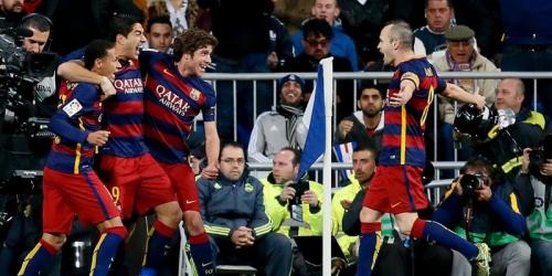 Liga BBVA, Barcelona golea 4-0 al Real Madrid (VIDEO)