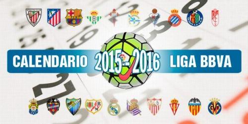 Liga BBVA, fue sorteada la temporada 2015/2016