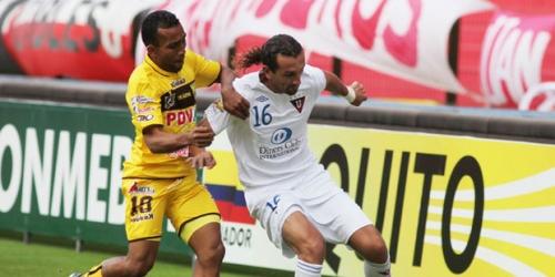 Liga de Quito remontó y goleó a Trujillanos