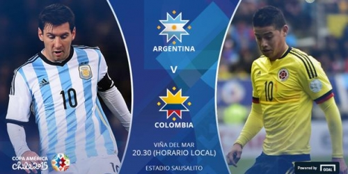 FINAL: Argentina 0-0 (5-4) Colombia