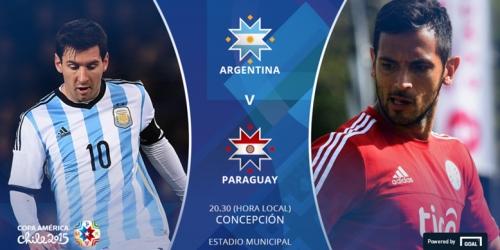 FINAL: Argentina 6-1 Paraguay