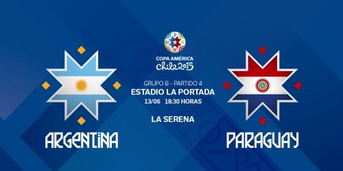 FINAL: Argentina 2-2 Paraguay