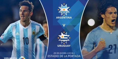 FINAL: Argentina 1-0 Uruguay
