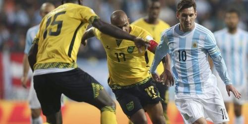 FINAL: Argentina 1-0 Jamaica
