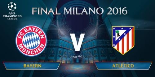 (LIVE) Champions League, sigue EN VIVO el Bayern vs. Atlético