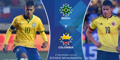 FINAL: Brasil 0-1 Colombia