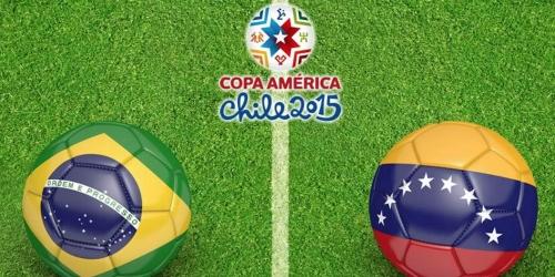 FINAL: Brasil 2-1 Venezuela
