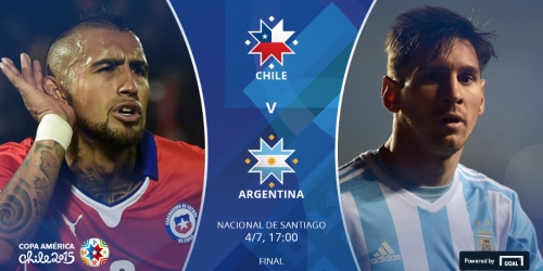 FINAL: Chile 0-0 Argentina (4-1)