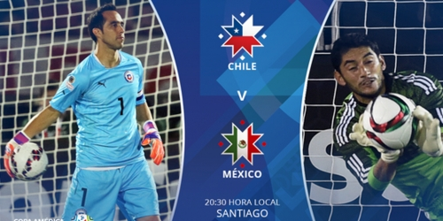 FINAL: Chile 3-3 México