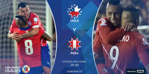FINAL: Chile 2-1 Perú