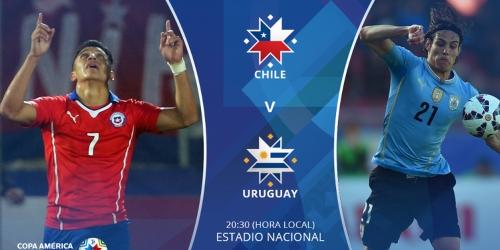 FINAL: Chile 1-0 Uruguay