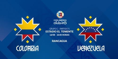 FINAL: Colombia 0-1 Venezuela