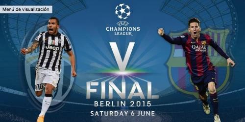 FINAL: Juventus 1-3 Barcelona