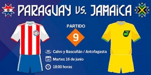 FINAL: Paraguay 1-0 Jamaica