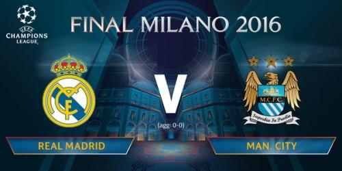(LIVE) Champions League, sigue EN VIVO el Real vs. City