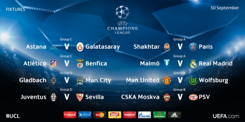 LIVE: Sigue toda la jornada de la Champions League