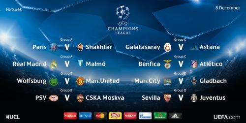LIVE: Sigue la 6a jornada de la Champions League