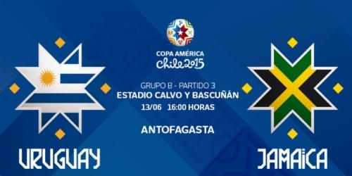 FINAL: Uruguay 1-0 Jamaica