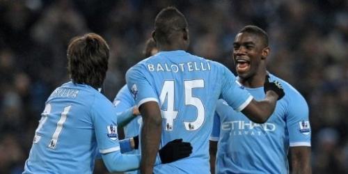 Manchester City gana y lidera la Premier provisionalmente