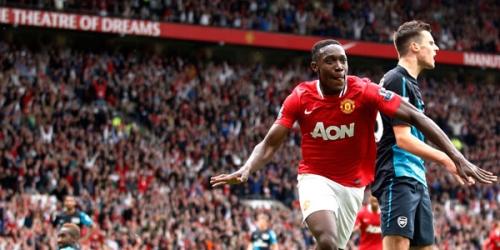 Manchester United aplasta al Arsenal y es líder del torneo