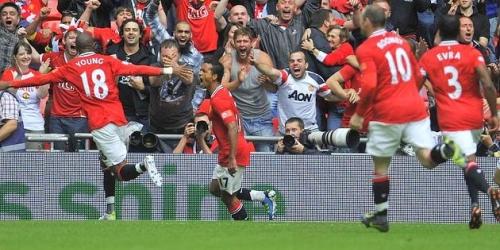 Manchester United ganó la Supercopa de Inglaterra