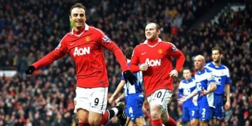 Manchester United reforzó su liderato con una goleada