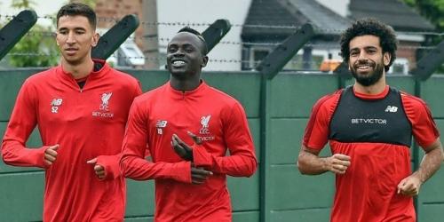 Mané se queda con el 10 y Salah vuelve a los entrenamientos