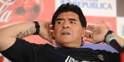 Maradona confirmó a 20 seleccionados para ir a Sudáfrica