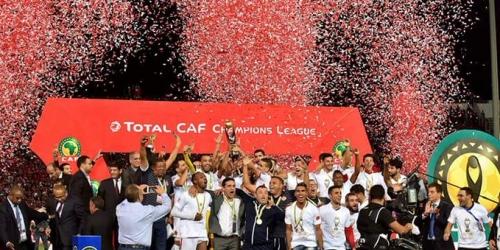 Marruecos: Festejos ante el campeonato de África del Wydad