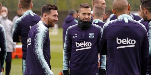 Messi con alta médica y posible titular ante el Real Betis