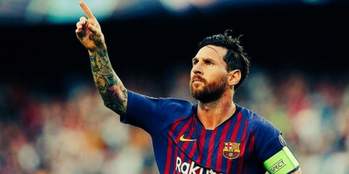 Messi convocado para próximo partido de Champions League