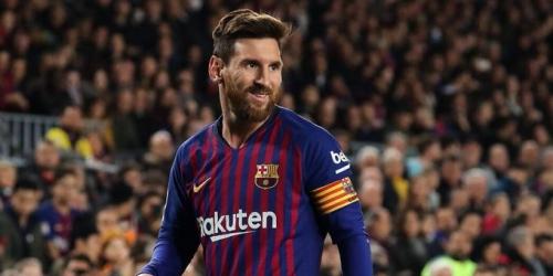 Messi es el goleador del 2018 y supera a Ronaldo por 2 anotaciones