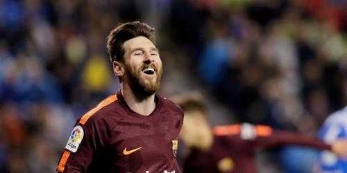 """Messi: """"Fue una Liga muy especial para todos, superamos sin conocer la derrota y eso es increíble"""""""