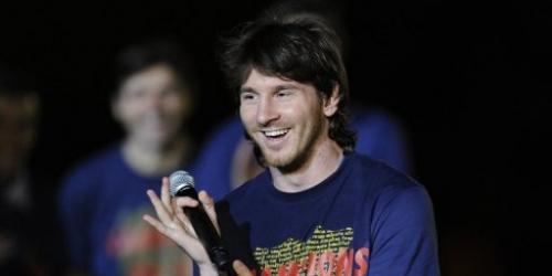 Messi se ilusiona con Argentina campeón en Sudáfrica