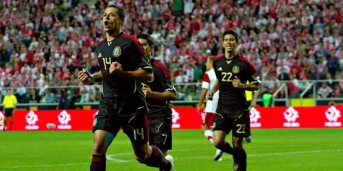 México igualó con Polonia en partido de preparación