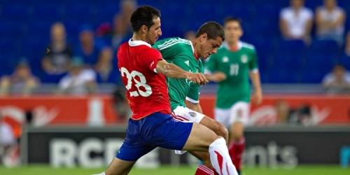 México venció a Chile en partido amistoso