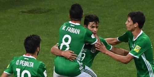 (VIDEO) Copa Confederaciones, México le ganó a Nueva Zelanda y lidera el Grupo A