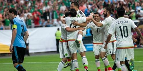 (VIDEO) Copa América, México derrotó a Uruguay en un entretenido partido