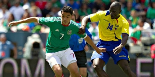 México y Ecuador empataron 1-1 en partido amistoso