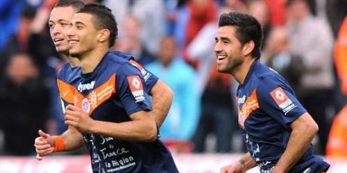Montpellier sigue líder tras derrotar al Sochaux