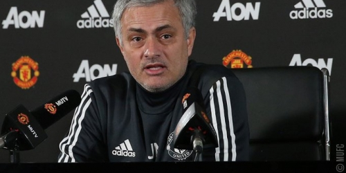 Mourinho habla sobre el rumor de su salida del Manchester United
